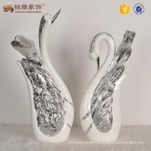 Decorações para casa casais estátuas de cisnes resina artesanato presentes de casamento