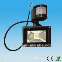 High power best price AC100-240V 12-24V 20w solar led pir light 30W
