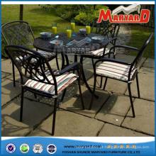 Mobília de Shunde China que janta a tabela exterior da mobília do jardim dos grupos
