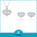 2016 Heart Shape 925 Wholesale Jewellery (J-0176)