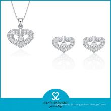 2016 coração forma 925 atacado jóias (J-0176)