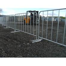 Powder Coated Metal Crowd Control Barrier Konser Crowd