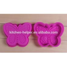 Hot-venda Anti-poeira Cute Silicone Biscuit Molde de cozimento