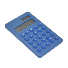 8 Digit Colorful Pocket Calculator with Round Key
