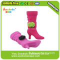 Colorful Fashion Purple boots en forme de gomme