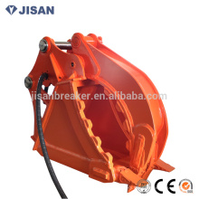 bucket grab Suit for excavator, grabber, clamp bucket, hydraulic bucket grapple