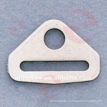 Accesorios decorativos del bolso de hebilla de triángulo (O33-646S)