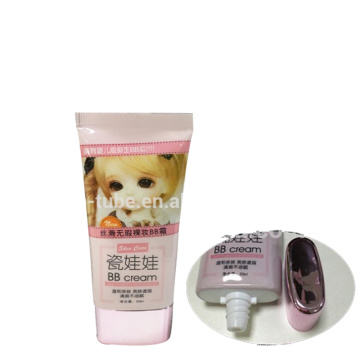 cosmetic aluminum packaging tube makeup container for girl