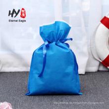 Wholesale bolsa de regalo con cordón no tejido