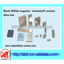 Neodym-Magneten - riesige Block-Permanent-magnet