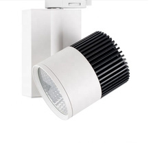 Black white 2700 3000 4000 5000 6000K CE RoHS SAA 50w size awning angled led track lights
