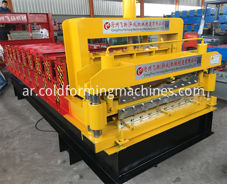double layer roll forming machine 11