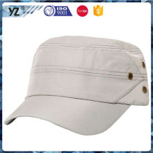 New and hot strong packing custom embroidered military caps from manufacturer