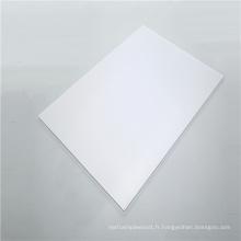 Panneau solide en polycarbonate transparent ignifuge