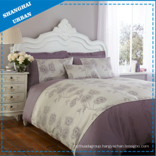 4 PCS Cotton Satin Duvet Cover Set