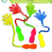 Vente en gros TPR Plastic Hands Sticky Toys Fêtes de fête des enfants