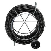 "Hongli 1 1/4 ""x 60ft Câble de drain sectionnel avec support"