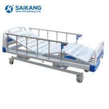SK015 4 cama de hospital manual paciente manivela