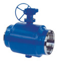 worm gear turbine drive t-30 fully welded ball valve