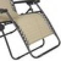 Lowes Furniture - Techo reclinable plegable de tela para exteriores, marco Sun Lounge con toldo