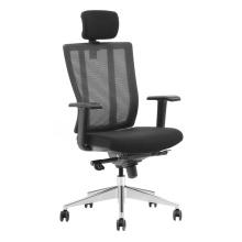 Chefsessel mit hoher Rückenlehne / ergonomischer Stuhl / Netz-Bürostuhl