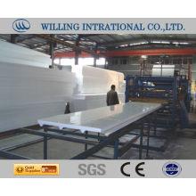 Grupo de sándwich de EPS línea de producción de maquinaria Proveedor de China
