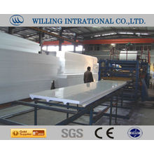 Eps board molding roll forming machine