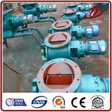Industrial discharge airlock unloading valve