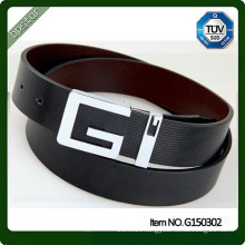 Custom Fashion Leather Logo Belt