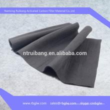 Китай активированный уголь Активный уголь углеродного волокна ткани цена сертификат RoHS компании SGS