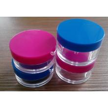 Kosmetik-Glas, Plastikflasche, Sahne-Glas, Sahne-Flasche