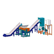 industrial plastic bottle recycling shredder and crusher