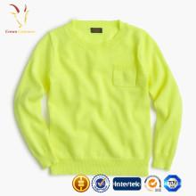 Suéter de cachemira de los niños, suéter de lana hecho punto para los niños, suéter hecho punto del bebé