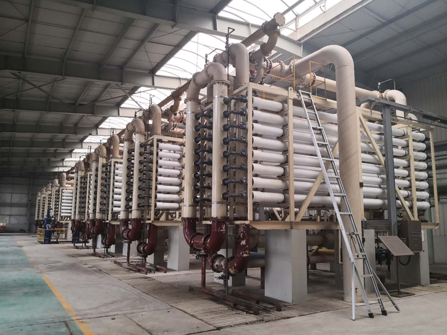 FRP membrane housings project