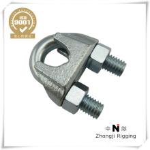 US Type galv malléable câble Clip