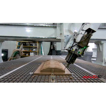 4D CNC Router 4 Axis Eixo Wood Router CNC 4 Axis Rotary Spindle CNC Router Machine 4 Axis with Automatic Tool Changer