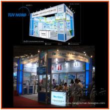 Fábrica de stand de exposición Anson 6 * 6 hecha en Shanghai