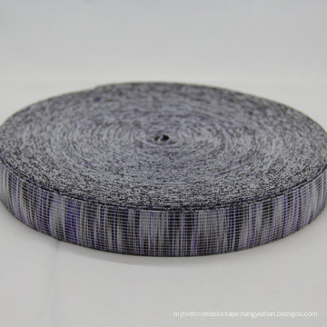 Colorful 100 % Polyester Jacquard Elastic Webbing / Ribbon / Strap / Tape for Bags / Garment Accessories