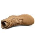 Botas de combate militares de cuero de alta calidad y botas de desierto (31001)