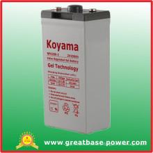 200ah 2V Gel Stationary Battery for Solar Power System