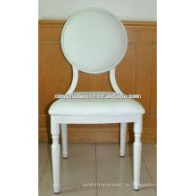 Weiß stapelbarer Veranstaltungsstuhl XA4053