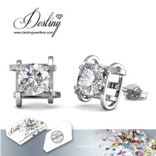Destino joyas cristales de Swarovski Simple pendientes