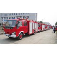 Rescate de emergencia 6000L Isuzu Fire Truck tanque de espuma de agua