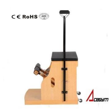 Pilates Equipment Combo Stuhl mit vier Federn