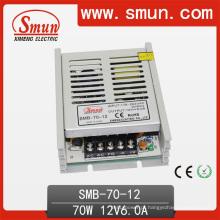 Fonte de alimentação de comutação ultra-fina Smun 70W 12V 6A SMB-70-12