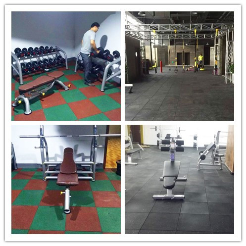 Gyms Rubber Floor