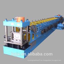 La venta superior, rodillo del marco de puerta que forma la máquina con perforar, máquina de perforación