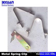 Clipe de mola clipe de mola de metal