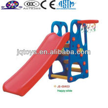 Best selling children outdoor plastic slide climbing toy