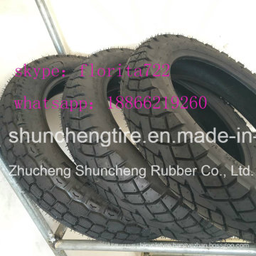 Motorcycle Tyre 2.50-17 2.75-17 3.00-17 110/90-16 4.00-8